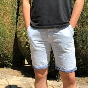 Cedar wood State Light Blue Men's Shorts
